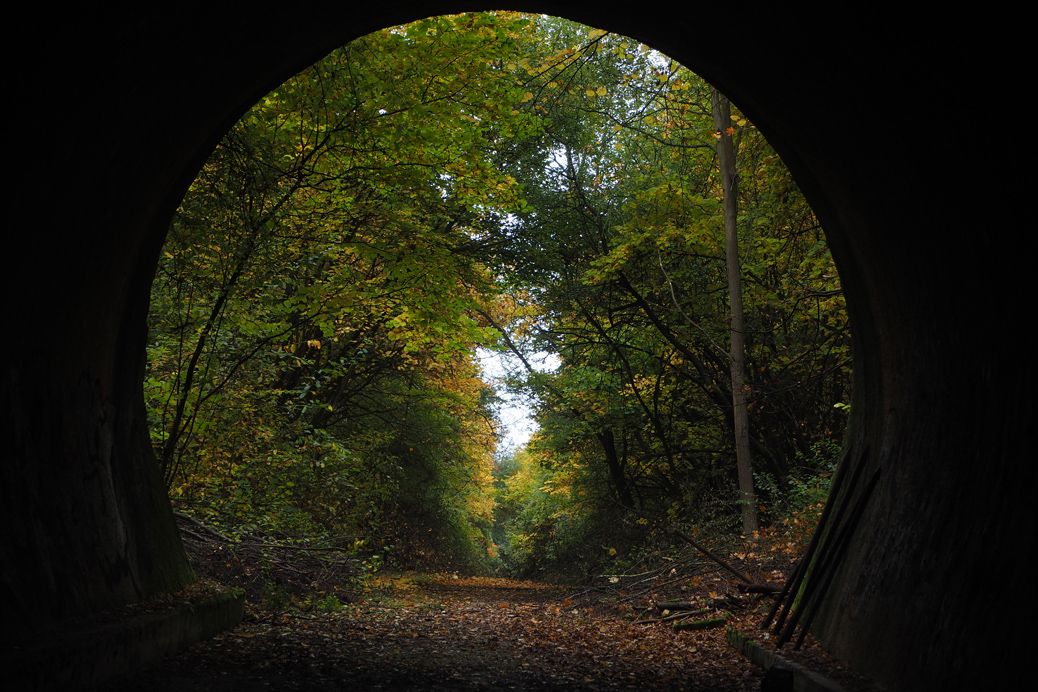 (©) Wolfgang Hoffmann - Tunnel, Gänge, Flure