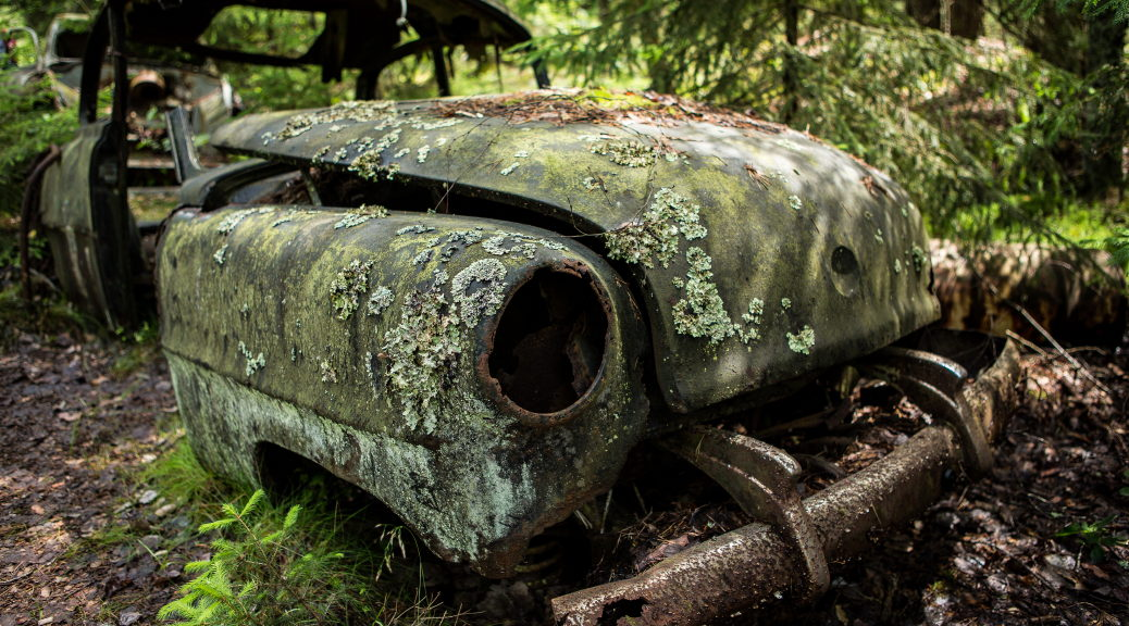 Autofriedhof Kyrkö Mosse, Schweden